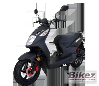 2014 Sym Orbit II 50 Naked